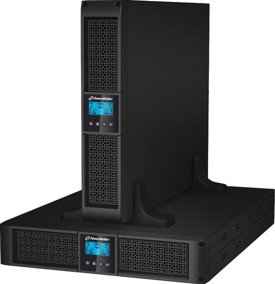PowerWalker VI 3000RT LCD UPS 3000 VA 9 AC-uitgang(en)