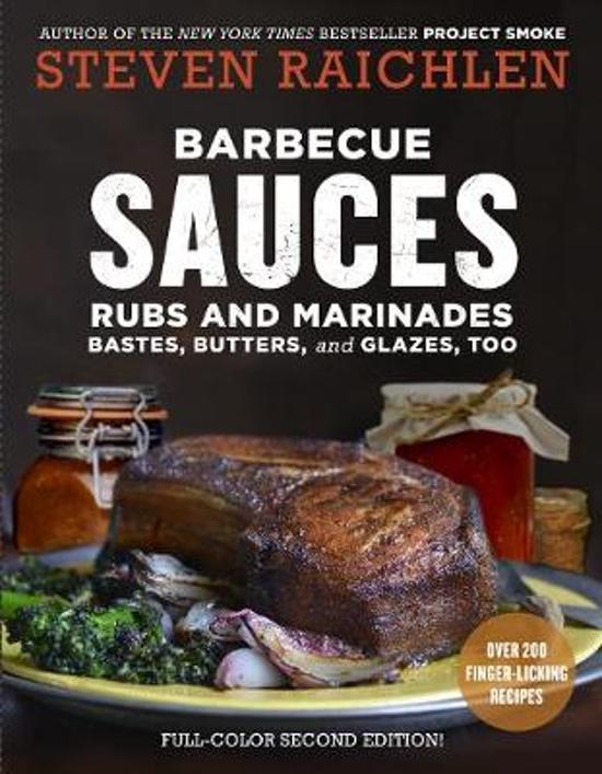 Boek cover Barbecue Sauces, Rubs, and Marinades, 2nd ed. van Steven Raichlen (Paperback)