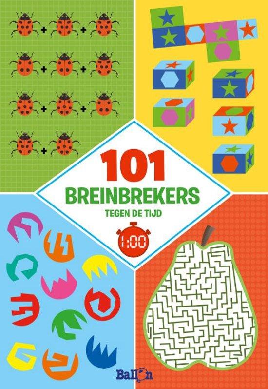 Logische puzzels 101 breinbrekers tegen de tijd