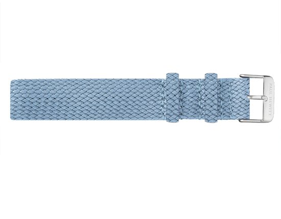 Paul Hewitt Watchstrap PH-PS-S-26M - Horlogebandje - 20mm - Blauw