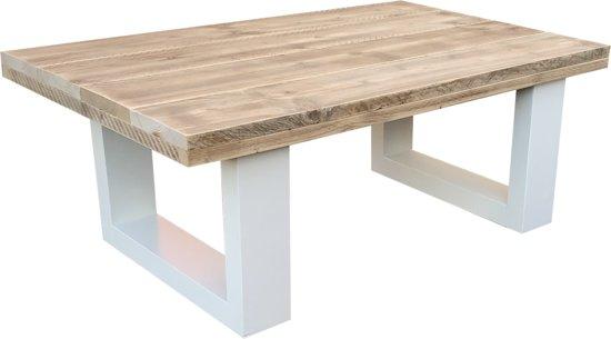 Eettafel hout wit cm uitschuifbaar louisiana koop nu
