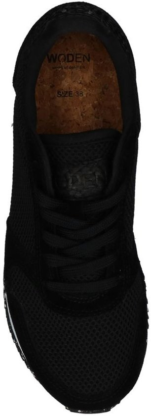 Mesh Woden Sneakers Ydun Ydun Woden Zwarte SwqUOx