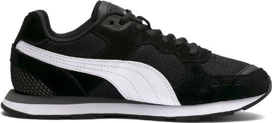 Puma Kinderen Vista 38 5 Maat Black Jr White Sneakers dAnrZxd