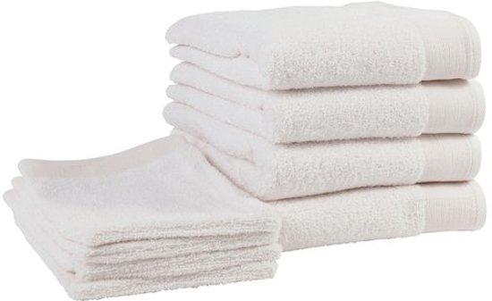 bol | walra handdoeken en washandjes - badgoedset - off-white