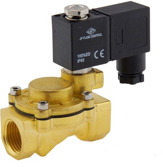 Magneetventiel CM-IA 1/2'' compact messing FKM 0.5-12bar 12V DC