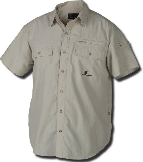 Wolf Camper Coyote heren shirt zand