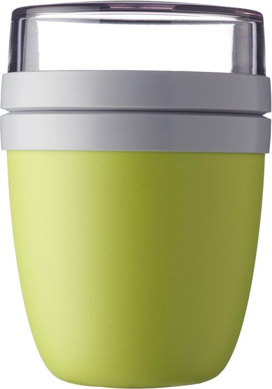 diverse stijlen fabrieksprijs Discover Mepal Lunchpot Ellipse - 0,5L + 0,2L - Nordic Lime - groen
