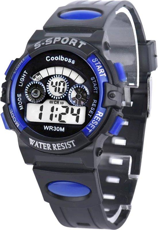 Fako Bijoux® - Kinderhorloge - Honhx S-Sport Mini - Blauw