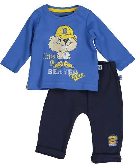 Blue Seven jongens pyjama set maat 62 blauw