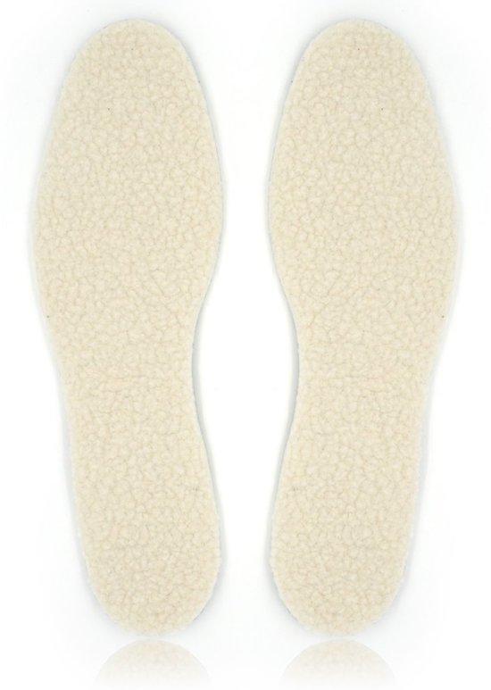 Thermozolen | voor warme voeten | set van 2 stuks | op maat te knippen geschikt voor maat 36 t/m 46