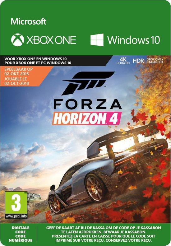 Forza Horizon 4: Standard Edition - Xbox One / Windows 10