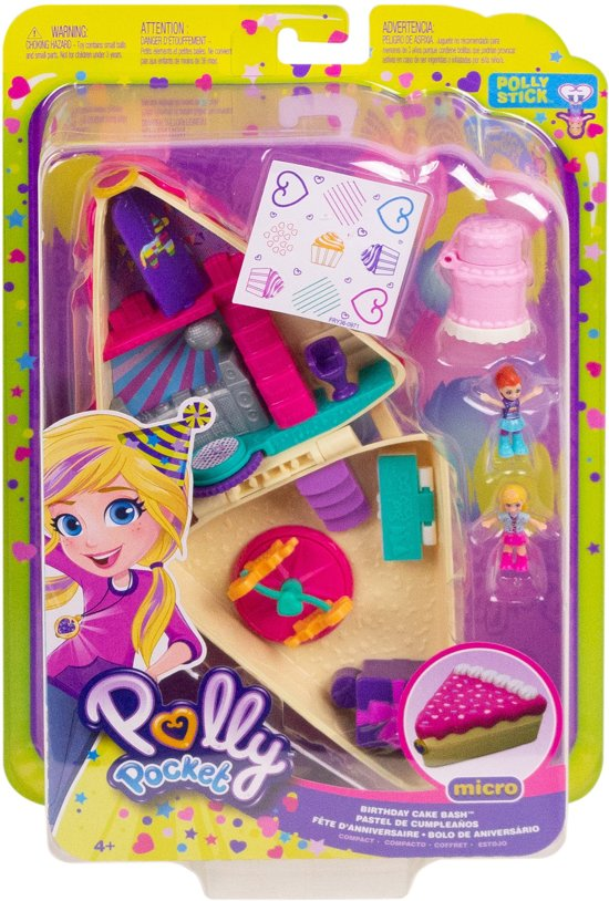 Polly Pocket Pocket World Verjaardagstaart