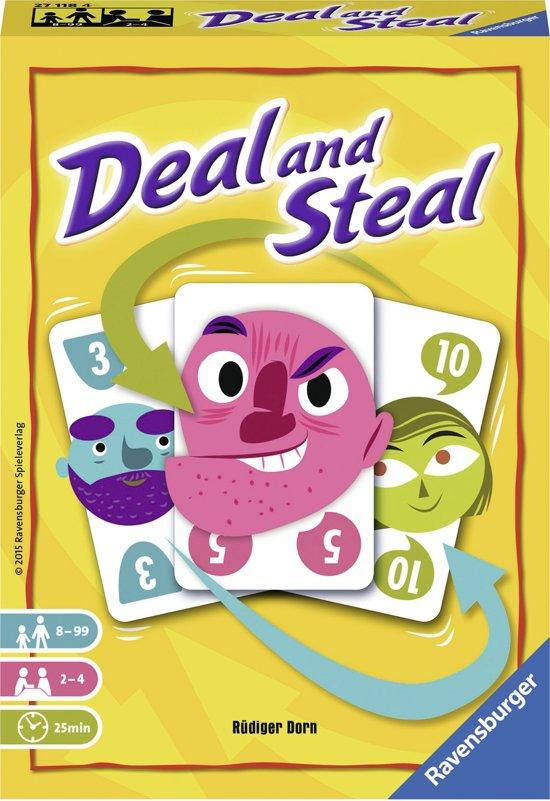 Afbeelding van het spel Steal or deal - Kaartspel
