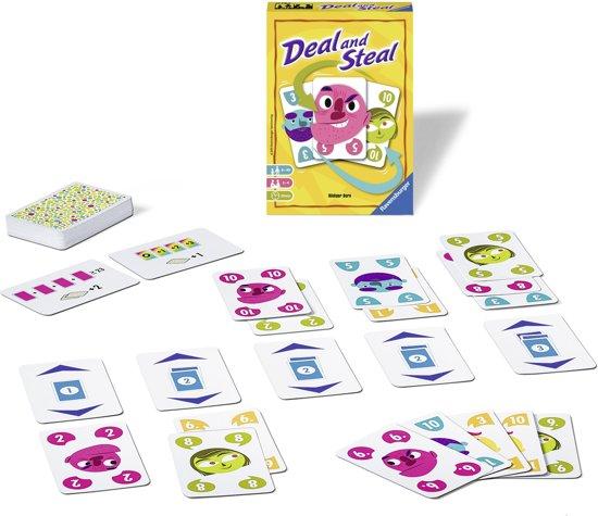 Thumbnail van een extra afbeelding van het spel Steal or deal - Kaartspel