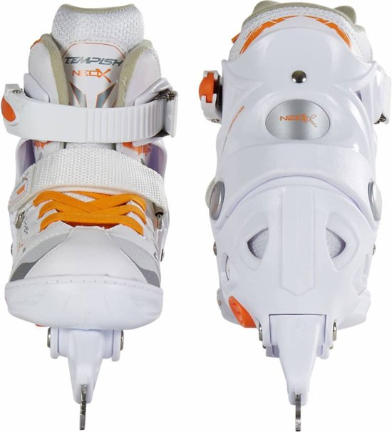 Tempish Kunstschaatsen verstelbaar NEO-X ICE Girl Wit/Oranje 29-32