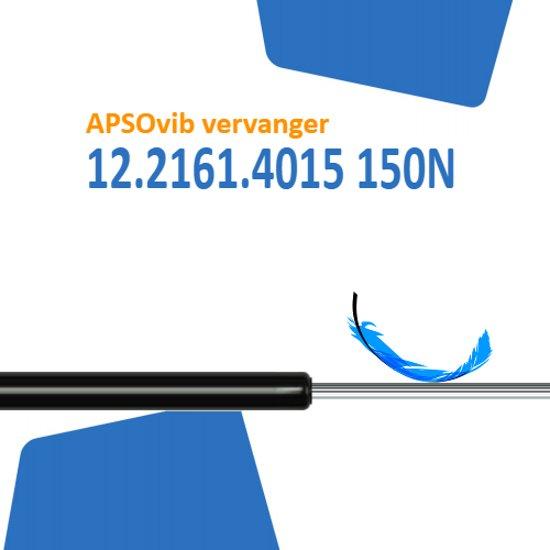 Vervanger voor APSOvib 12.2161.4015 150N gasveer