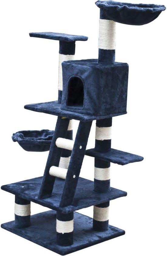 Krabpaal Jerry 122 cm (donkerblauw)