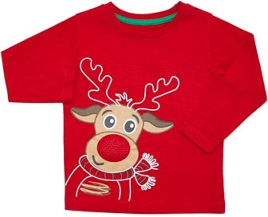 Bol Com Kerst Shirt Met Licht Maat 86 92