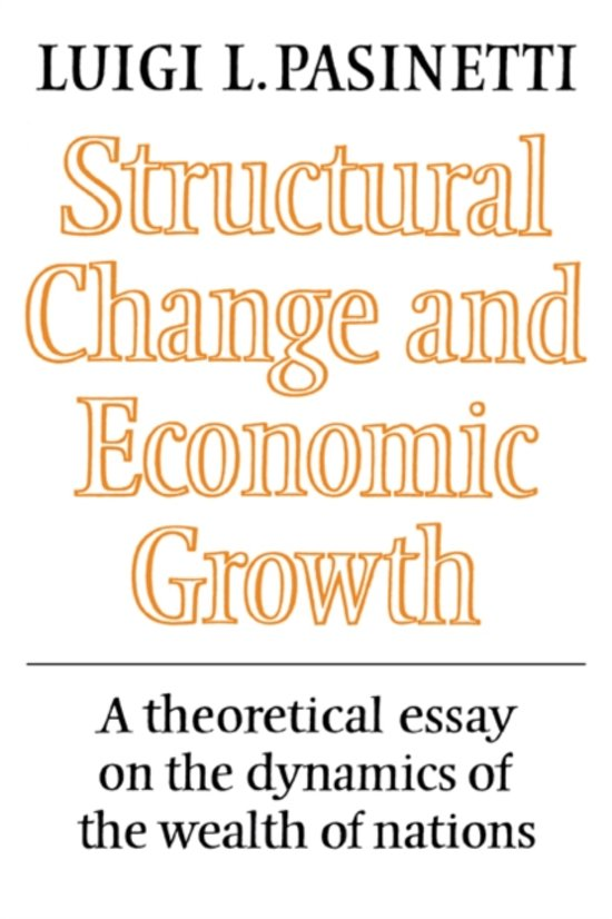 the concept of structural change economics essay In rite of passage: structural functionalism following the view that culture, including the social order, composes a coherent, inclusive system, much modern scholarship has interpreted rites of passage in terms of their functional significance in the social system.
