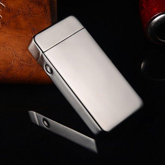 Aansteker elektrisch, oplaadbaar, met USB kabel, plasma X lighter, windproof