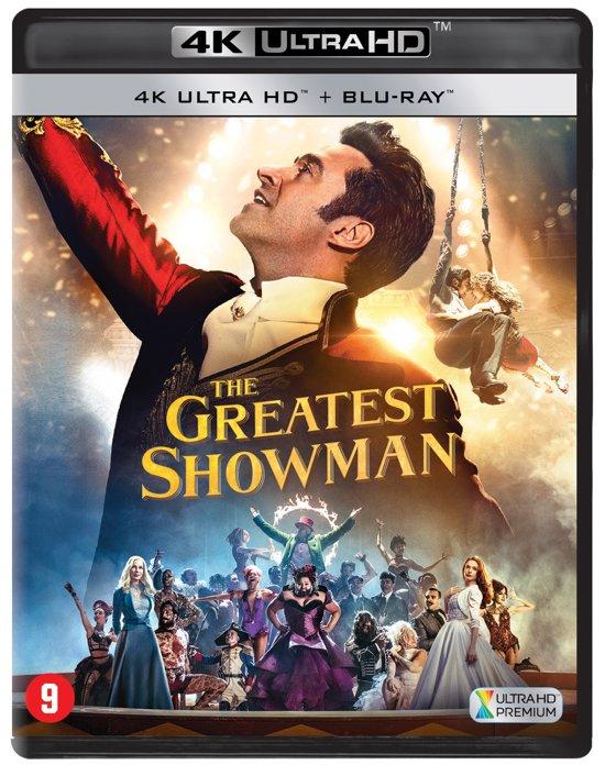 DVD cover van The Greatest Showman (4K Ultra HD Blu-ray)