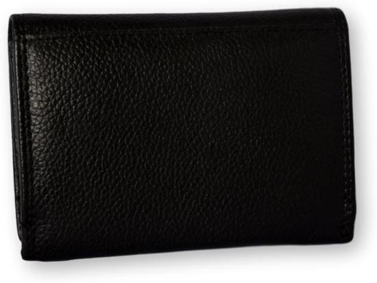 cca2da0071c bol.com | LeonDesign - 16-W0503-04 - portemonnee - zwart - leer