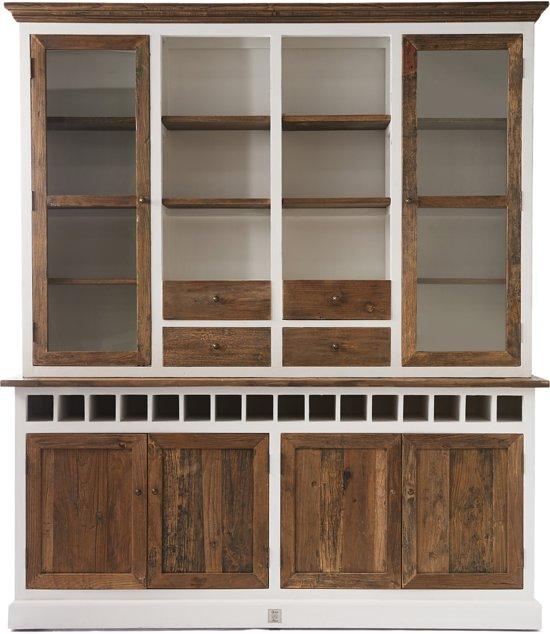 Rivièra Maison Driftwood Cabinet Buffetkast Without Met Dubbel Wijnrek