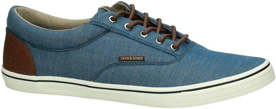 ec5e97f3440 Jack & Jones - Vision Chambray Mix - Sneaker laag gekleed - Heren - Maat 41