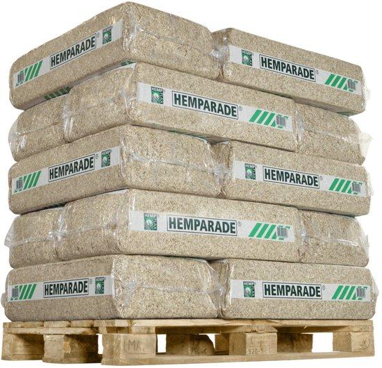 Hemparade Hennepvezelstrooisel - 14 kg