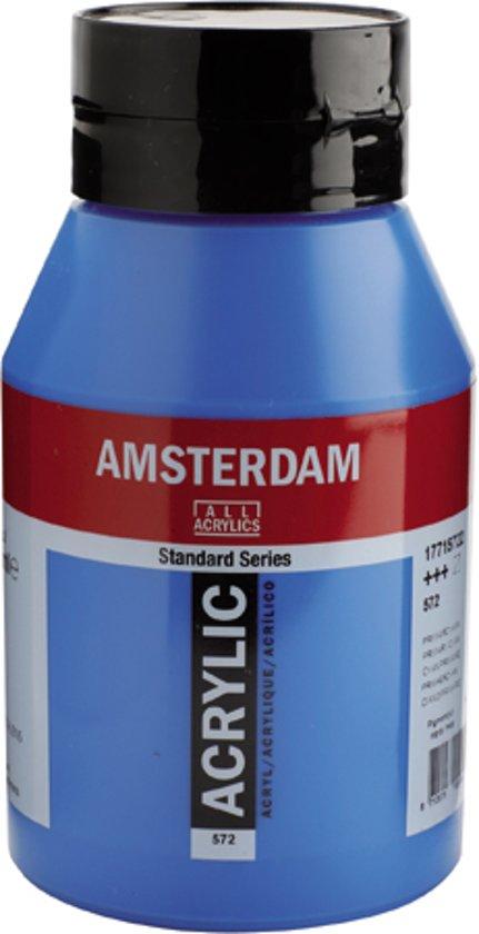 Amsterdam Acrylverf 572 Primaircyaan 1L