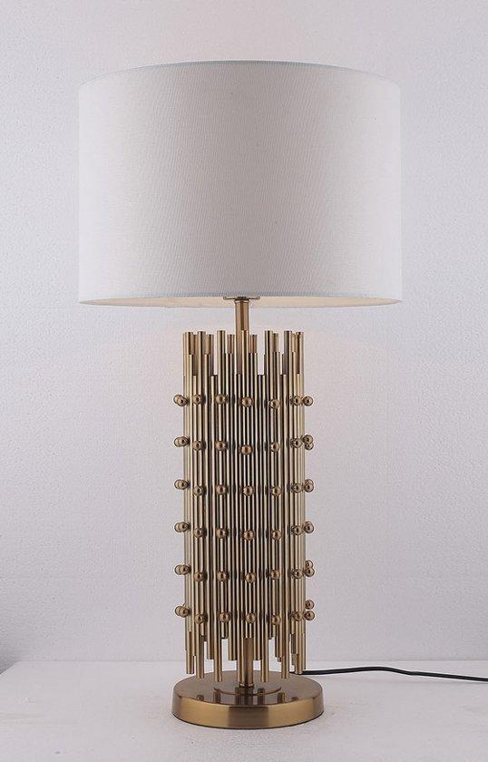 Tafellamp Milan 24x24x60 , Ø40-H76
