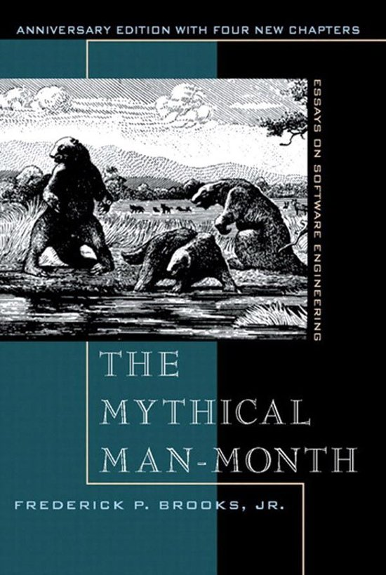 Boek cover The Mythical Man-Month van Frederick P. Brooks (Onbekend)