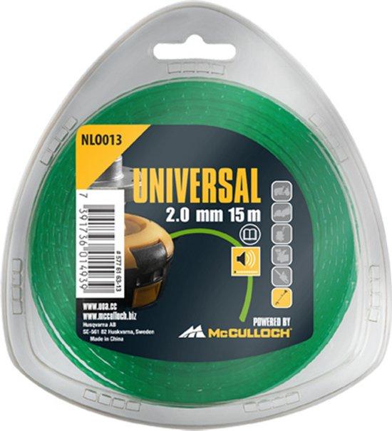 McCULLOCH NLO 013 Nylon draad 2.0mm x 15m - geluidloos