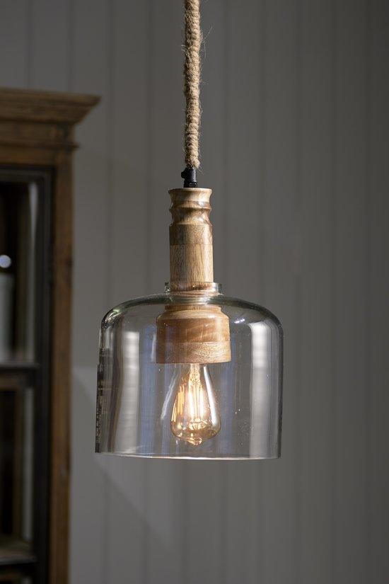 Riviera Maison San Sebastian Hanging Lamp - Hanglamp - Glas