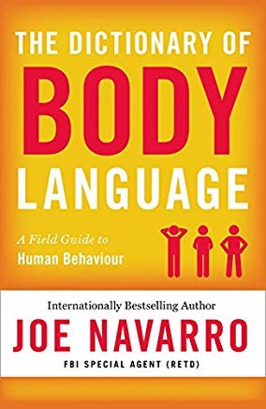 Boek cover The Dictionary of Body Language van Joe Navarro (Paperback)