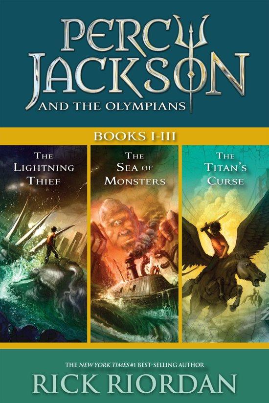 Bol Com Percy Jackson And The Olympians Books I Iii Ebook Rick