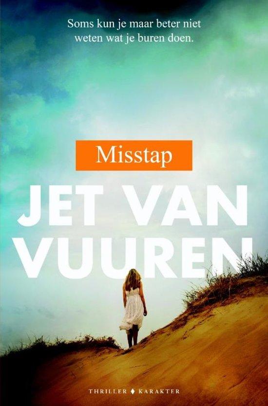 Boek cover Misstap van Jet van Vuuren (Paperback)