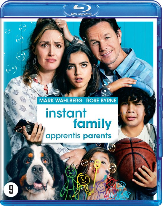 DVD cover van Instant Family (Blu-ray)