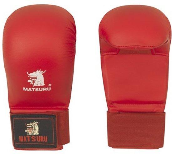 Matsuru Karate Vuisten Rood-XS
