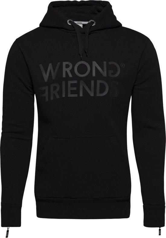Hoodie London Wrong Black Friends black w8TqaOp