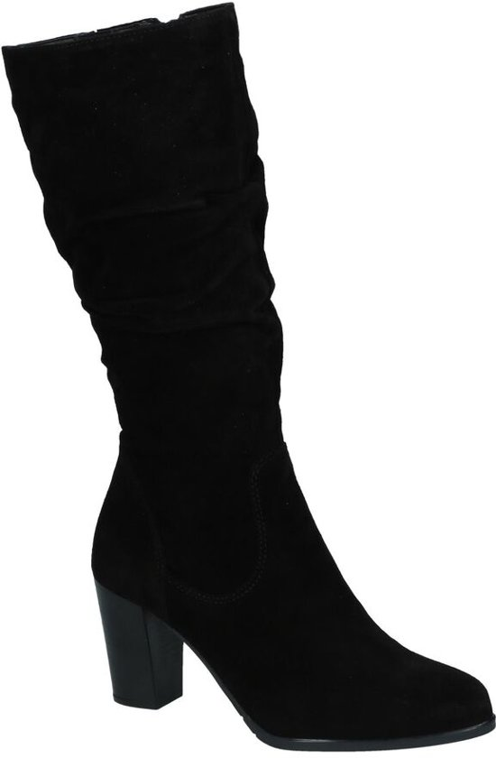 zwarte lange laarzen tamaris