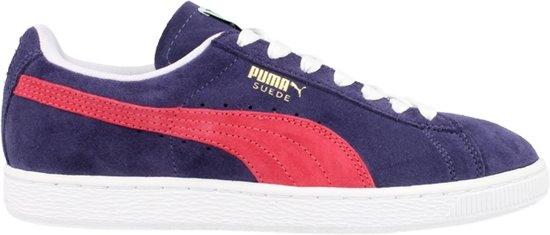 Puma Classic Suede Blauw Rood