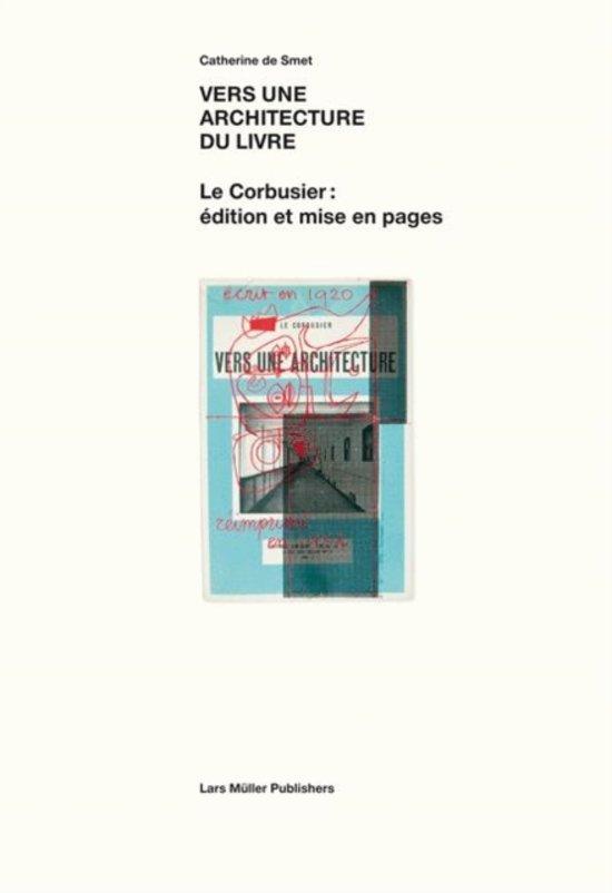 Cover van het boek 'Vers une architecture du livre'