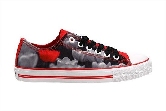 Hollandse Met Maat Rode Tulp Design Sneakers 41 yI76gbfvY