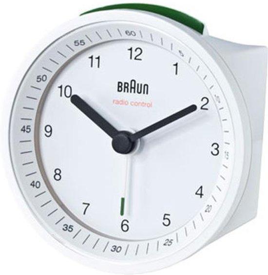 Braun wekker BNC007 WHWH Ã 8 cm