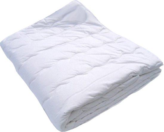 6596b0bc9ef iSleep Cotton Washable Kinderdekbed - 100% Katoen - Junior - 120x150 cm -  Wit