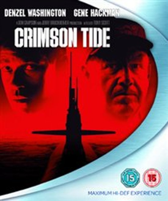Cover van de film 'Crimson Tide'