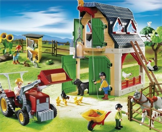 Bol playmobil boerderij playmobil speelgoed