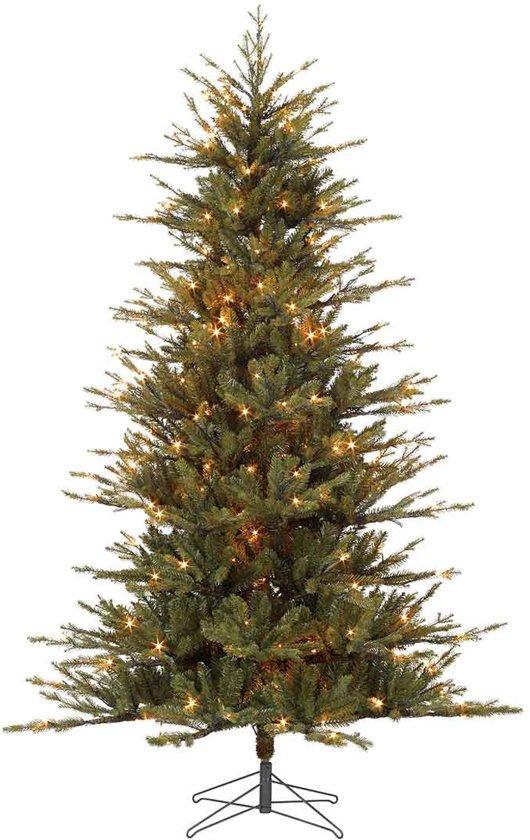 black box trees buchanan kerstboom met ingebouwde led verlichting hoogte 230 cm