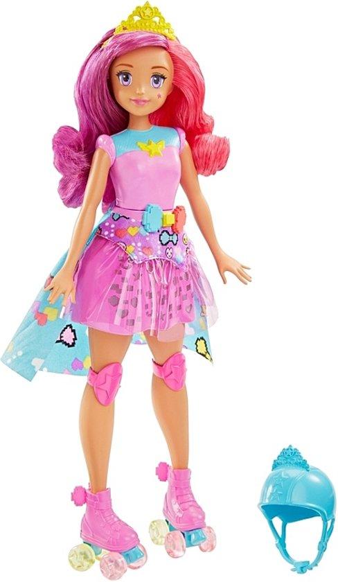 Barbie Tienerpop Videogames Met Ingebouwd Spel 33 Cm